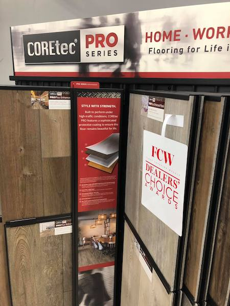 Tise 2019 Coretec Powers The Usfloors Booth Your Guide
