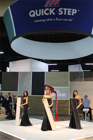 "Quick-Step brings ""Long Live Style"" to life at Surfaces"